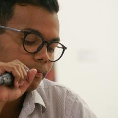 Lectura de Nuevas Voces del 6to Festival de Poesía de Maracaibo. 23 de septiembe de 2017 Fotografía de Aris Viloria