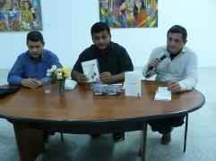 """Presentación de los poemarios """"Creencias del Columpio"""" y """"Autoelegias"""""""