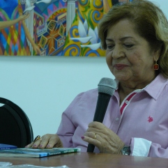 Presentación de los libros la poeta Lilia Boscan de Lombardi