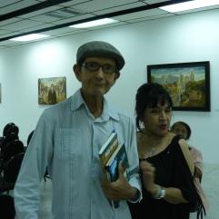 Enruqe Romero junto a Xiomara Rivas
