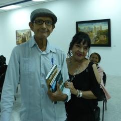 Enrique Rmero Junto a Xiomara Rivas