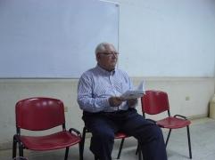 El poeta Dario Romero en la FEDA
