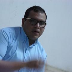 El poeta Jorge Morales Corona en la FEDA