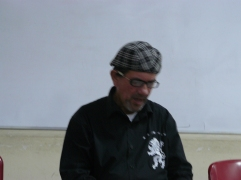 El poeta Eudes Alexander Moncada Colmenares en la FEDA