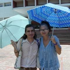 Jose Miguel Navas y Martha Calderon