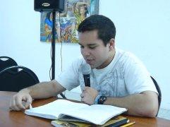 Giulio Isea en la Lectura de Nuevas Voces