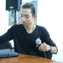 Javier Castellano en la Lectura de Nuevas Voces