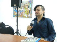 Gio Polanco en la Lectura de Nuevas Voces