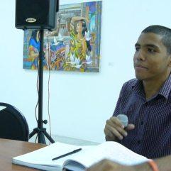 Luis Zozaya en la Lectura de Nuevas Voces